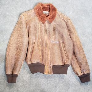 Vintage Katherine Hamnett London aviator jacket